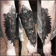 Todays work - i covered up a tribal & some flames with this lion that i designed yesterday. So much ...