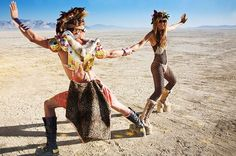 Inspiration  30 Brilliant Burning Man Costumes to Buy and DIY via Brit +  Co. Janelle Lubbe · Afrikaburn Outfits 3402e50d249a