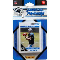 Carolina Panthers 2011 Team Cards - Party City