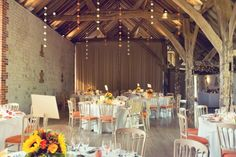 Louise and Gareth's harvest festival wedding with Jacaranda Catering at Bury Court Barn   Image by Esme Ducker Photography