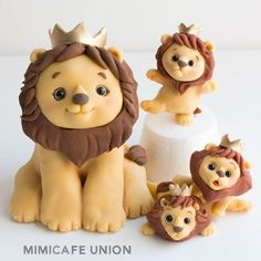 Lion King Cake & Cupcake Toppers - Mimicafe Union @New York