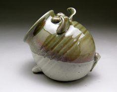 Salt Pig - Michèle Hastings Pottery