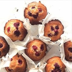 Coconut & Raspberry Muffins | Sweeter Life Club