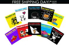 Rockabye Baby Lullabies 47% off + free shipping — rock your baby to sleep with adorable renditions of your favorite bands, including michael jackson, U2, elton john, kiss, jay z, foo fighters, pearl jam, bob marley, prince, and nickelback.