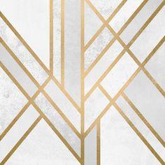 """""""Art Deco Geometry II"""" by Elisabeth Fredriksson"""