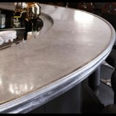 Zinc And Pewter: The New Age Of Counter Tops.