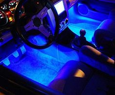 Give your whip a tacky futuristic appearance with the car interior lighting kit. The kit includes four specially designed ultra bright LEDs ...