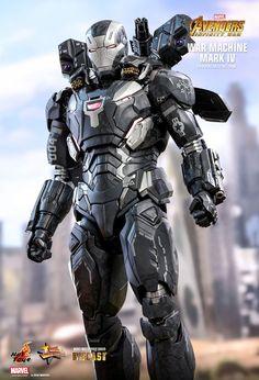 Marvel War Machine Mark IV Special Edition Sixth Scale Figur New Iron Man, Iron Man Suit, Iron Man Armor, War Machine Iron Man, Cyberpunk, Iron Man Avengers, Ironman, Avengers Infinity War, Marvel Dc Comics