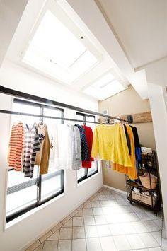 家事や子育てに超便利!天候に左右されない「インナーバルコニー」を取り入れてみませんか? Laundry Room Design, Home Room Design, Bathroom Interior Design, Interior Design Living Room, House Design, Outdoor Laundry Rooms, Drying Room, Paint Colors For Living Room, Home Office Decor