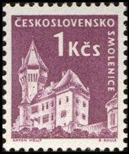 Sello: Smolenice (Checoslovaquia) (Strongholds and Castles) Mi:CS 1191,Sn:CS 976,Yt:CS 1074,AFA:CS 1037,POF:CS 1107