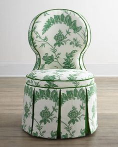 """LOVE!!! """"Erlinda"""" Dining Table & """"Garden"""" Dining Chair - Horchow"""