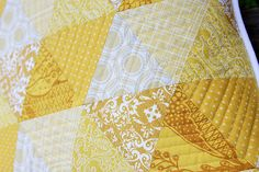 quilting and yellow