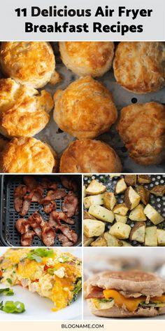 Air Fryer Recipes Breakfast, Breakfast Meat, Air Fryer Oven Recipes, Air Frier Recipes, Air Fryer Dinner Recipes, Brunch Recipes, Chicken Breakfast Recipes, Breakfast Potatoes, Budget Recipes