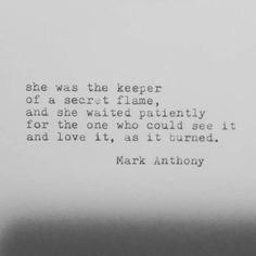 The Poetics of Mark Anthony