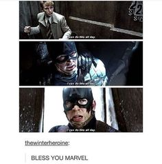 That right there is just one of the reasons why Steve Rogers is the most beautiful person in Marvel also i'M NOT SOBBING YOU ARE