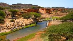Bo'ame is an ancient town in the northern Sool region of Somalia