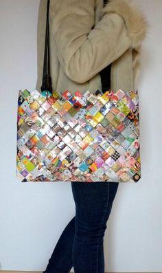 DIY Je fais mon sac en papier myfashionlove