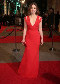 Emilia Clarke (Victoria Beckham) - BAFTA Awards 2016