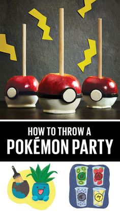 Gotta catch 'em all! Here's how to throw your little trainer the perfect #Pokemon party.