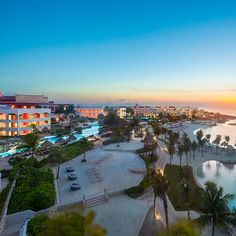 The view from up top at All-Inclusive Hard Rock Hotels!
