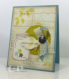 Deets and video tutorial: http://www.catherinepooler.com/2012/08/perfectly-preserved-video-series-4-lets-go-vintage-video-tutorial/ Perfectly Preserved Stampin' Up video tutorial #4 in the series