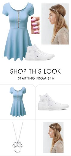 """""""I see"""" by hannahmcpherson12 ❤ liked on Polyvore featuring Converse, Disney, women's clothing, women, female, woman, misses and juniors"""