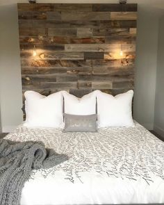 DIY BEDROOM INSPIRATION WITH WOOD
