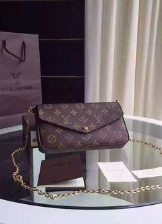 Add to your collection a Louis Vuitton Monogram Canvas Pochette Felicie Online sale at USD Free International Shipping. Lv Handbags, Louis Vuitton Handbags, Louis Vuitton Monogram, Designer Handbags, Ysl, Givenchy, Gucci, Louise Vuitton, Chanel Tote