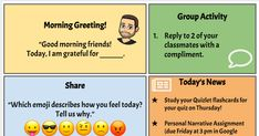 Morning meetings are an important component of building a strong classroom community. In a virtual environment, it can be difficult to maint...