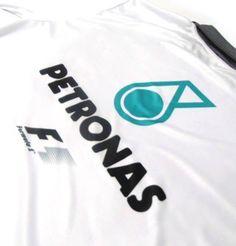 camisa pólo - estampa mercedes petronas - es053 31e23d9173923