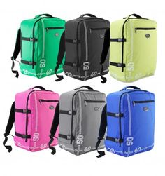 Cabin Max Barcelona Backpack - Guranteed carry on hand luggage for Easyjet. Travel has never been easier with this lightweight cabin bag 50 x 40 x 20 cm Luggage Backpack, Hand Luggage, Backpack Straps, Carry On Luggage, Cabin Bag, Barcelona, Backpacks, Bags, Lighter