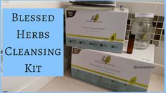 Unboxing - Blessed Herbs - Internal Cleansing kit and Colon Cleansing ki...