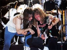 Bruce Dickinson, iron maiden, and Janick Gers image