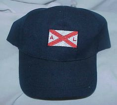 e846f47011a97 A L FLAG CAP HAT NAVY BLUE RED WHITE #fashion #clothing #shoes #accessories