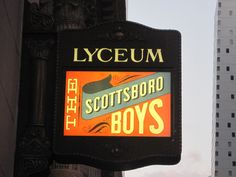 Image result for scottsboro boys theatre marquee