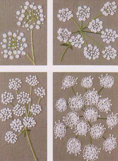 flower in my garden hand embroidery stitch sewing applique patchwork quilt PDF E Patterns - 堆糖 发现生活_收集美好_分享图片