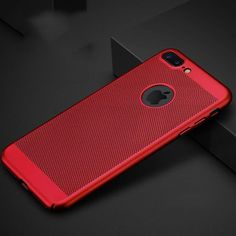 Mavako have designed this case specifically to help cool your phone. With around 3000 holes on the back of the case to let the heat from the back of the case dissipate. The case is made from soft touch PC material with a matte finish that doesn't show fingerprints. An ultra-thin and lightweight case means you won't notice any added bulk on your phone. Compatible with iPhone 5, 5S, 5C, SE, 6, 6 Plus, 6S, 6S Plus, 7, 7 Plus, 8 and 8 Plus, available in 5 colours. Only £9.49 with Free Shipping!