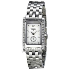 Longines Dolce Vita Quartz White Dial Stainless Steel Ladies Watch L5.155.0.16.6