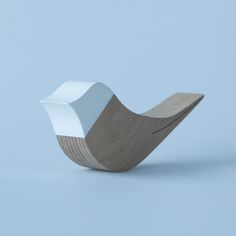 This doorstop by Belgian designer Cas Moor is shaped like a tiny bird. #design