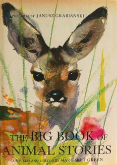 : Janusz Grabianski, 1929-1976, was a Polish illustrator with a stunning watercolour technique.  I'm used to see the German version of this book.