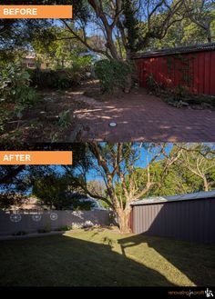 #facade #outdoorliving #renovation See more exciting projects at: www,renovatingforprofit.com.au Backyard Renovations, Home Remodeling, Before After Photo, Outdoor Living, Outdoor Decor, Dream Houses, My Dream Home, Facade, Real Estate