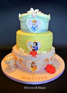 Dolcezze e Magia: Disney Pricess Cake