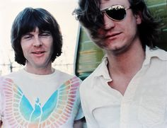 Meisner and Walsh in 1976