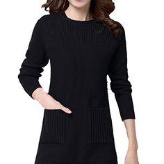 Partiss Damen Frauen U-Ausschnitt Casual Langarm Slim Casual Strickjacke Pullover Jersey, Onesize,Black Partiss http://www.amazon.de/dp/B01BW9SUW2/ref=cm_sw_r_pi_dp_xjRXwb07CCQZ4