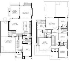 Contoh sketsa pembagian ruang di rumah type 90 2 lantai