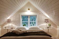 Attic Remodel Low Ceiling and Attic Apartment Living Room. Attic Loft, Loft Room, Bedroom Loft, Bedroom Decor, Dormer Bedroom, Attic House, Attic Ladder, Attic Office, Attic Playroom
