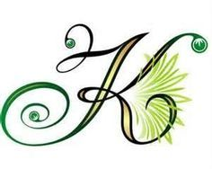 Letter K Tattoos For Women