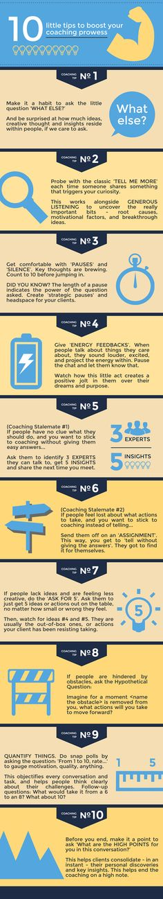 10 Tips to Boost Your Coaching Prowess Accompanying Infographic (Wan Chung) small #icf #coaching #success