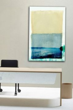Bondi Lake Canvas Wall Art. From haute look. Price varies by size. Max $250