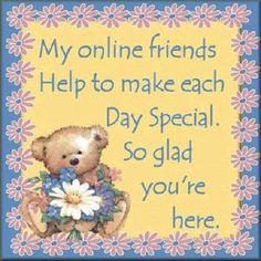 to my online friends... ❤ ❣
